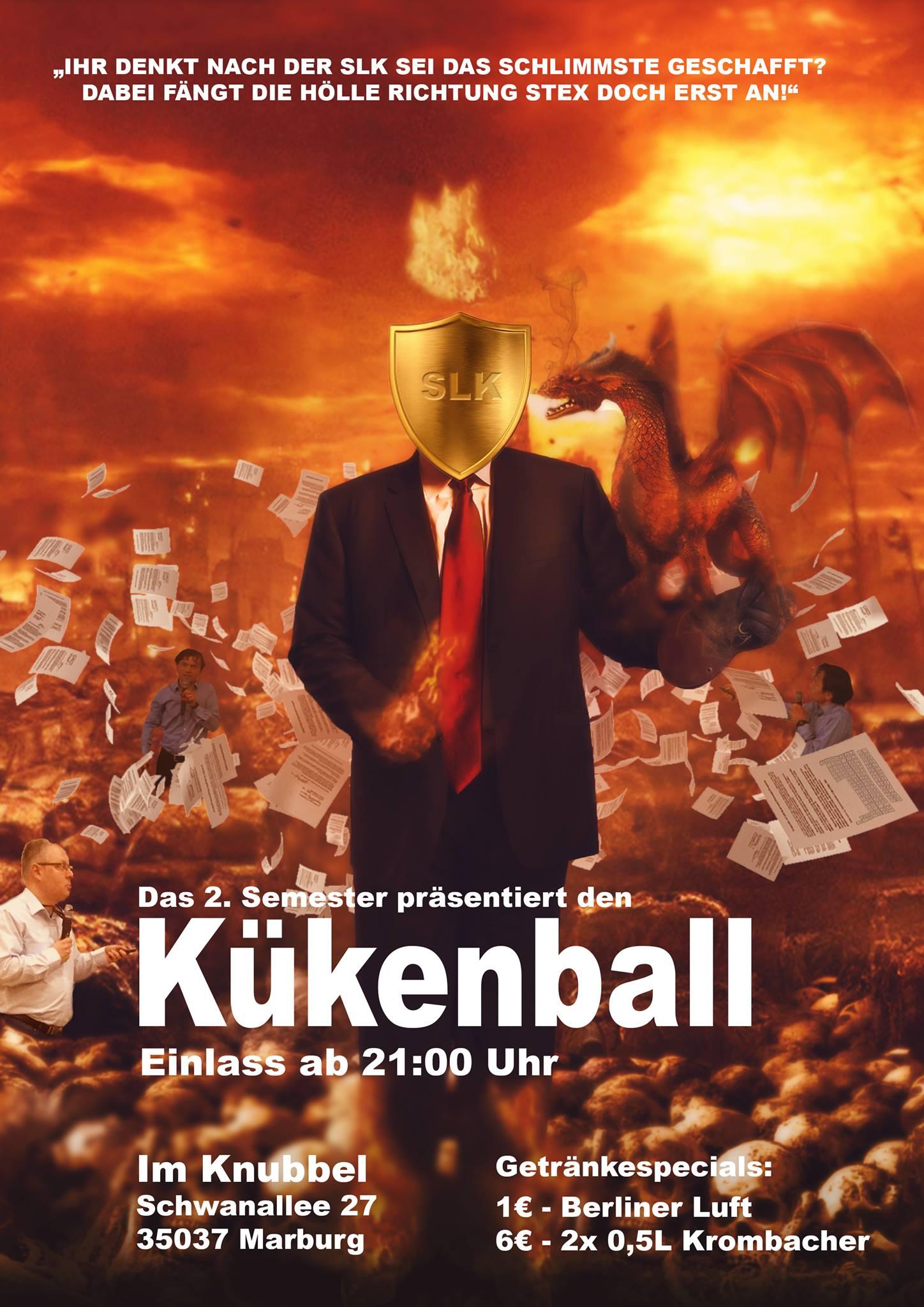 Kükenball des 1.Semesters @ Knubbel | Marburg | Hessen | Deutschland