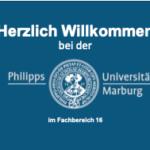 Onlinepräsentation für das 1. Semester für das Wintersemester 2020/2021